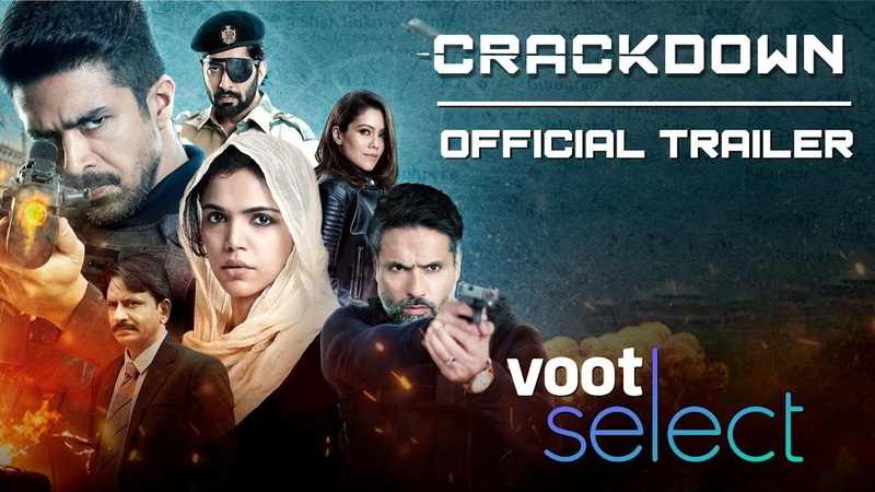 Crackdown Voot Select Official Trailer Saqib Saleem Shriya Pilgaonkar Iqbal Khan
