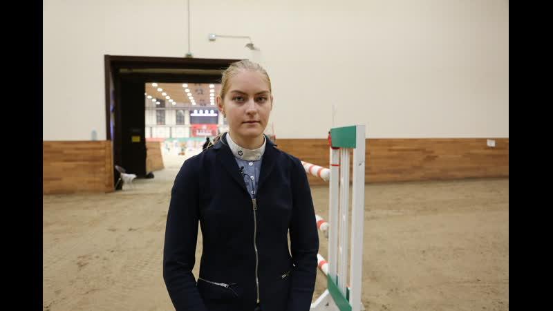 Ксения Хайрулина - победитель маршрута 130 см Серебряный тур