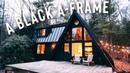 A Black A Frame Airbnb Tour A Frame Cabin