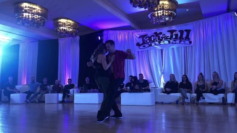 Jack Jill O'Rama 2019 Champions JnJ - Benji Schwimmer and Cameo McHenry
