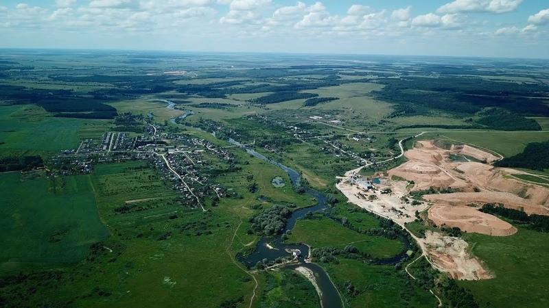 Село Ичалки Ичалковская ГЭС Ичалковский карьер