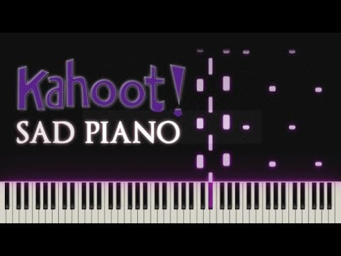 Sad Kahoot Piano Synthesia Tutorial