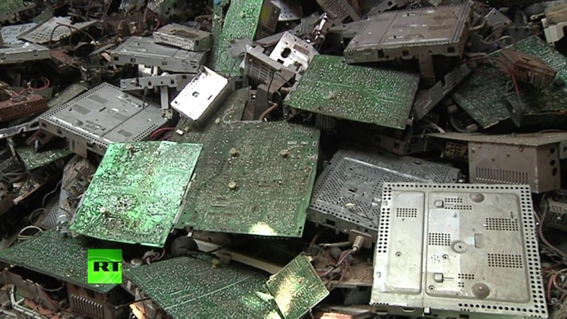 ООН: Европа и Америка незаконно отправляют тонны электронного мусора в развивающиеся страны