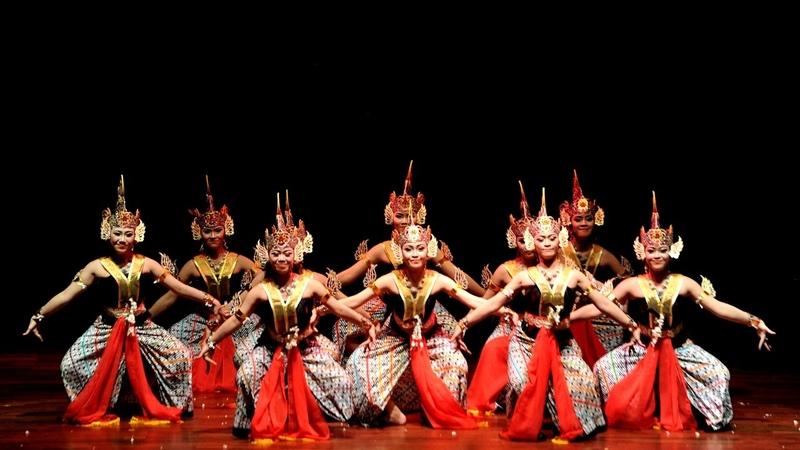 Kota Kediri GEMRANTANG JATI Festival Karya Tari Jawa Timur 2017