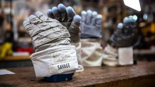 Inside Adam Savage's Cave New Apollo EVA Gloves