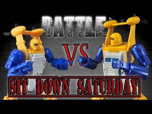 Fanstoys Spindrift VS X Transbots Neptune SIt Down Saturday