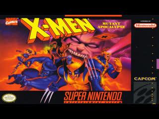 X-Men - Mutant Apocalypse (SNES)