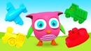 Dibujos animados para peques Figuras y colores para niños Serie de caricaturas educativas