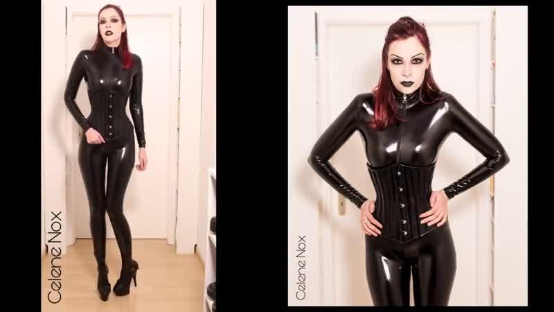Getting Dressed Pt.4_ PVC Catsuit, Datex Dress, Corsets