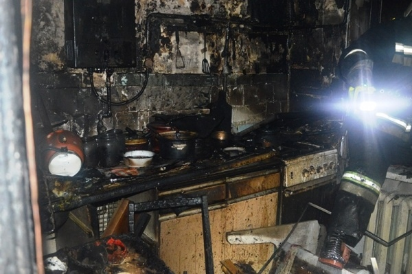 Ночью в одном из домов Марий Эл выгорела кухня