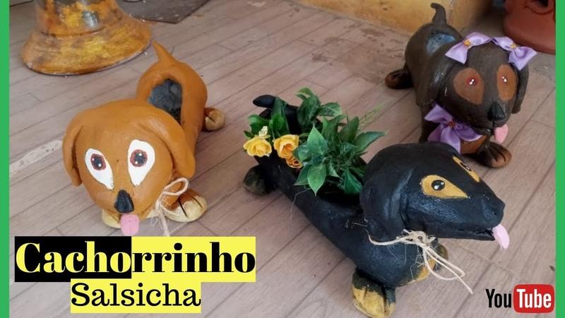 VASO CACHORRINHO SALSICHA