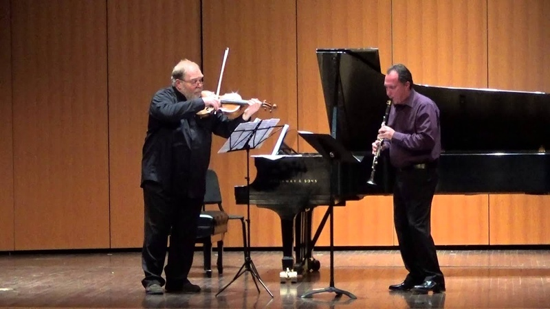 Allegro and Pastorale for clarinet and viola Yuri Gandelsman Guy Yehuda