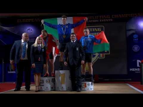 Геннадий Лаптев (BLR) - U23 Men 67kg, European Junior U23 Championships, Bucharest 2019