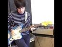 Johnny Marr playing LAST NIGHT I DREAMT on Fender Johnny Marr Jaguar