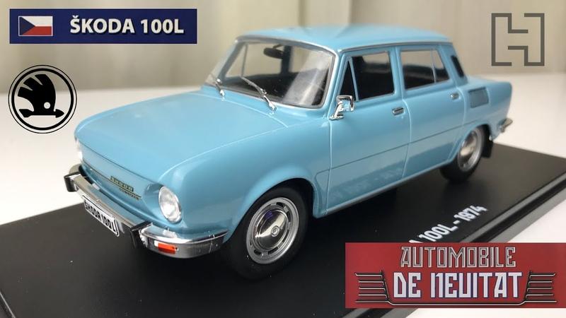 Skoda 100L Automobile de neuitat nr 4 Hachette 1 24 scale