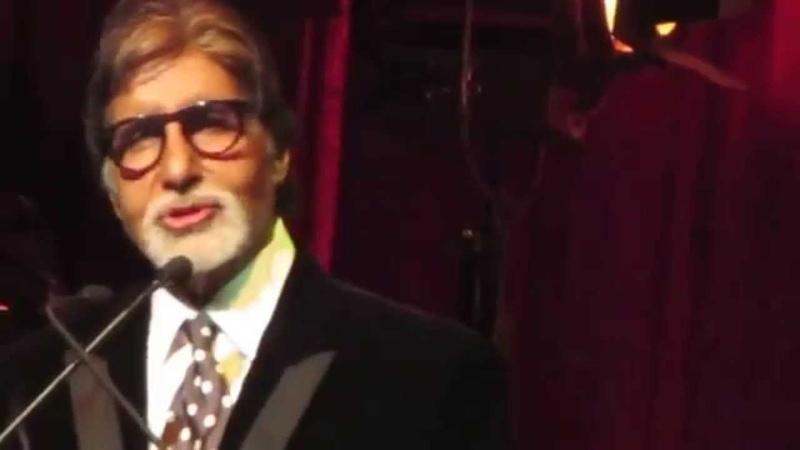 Amitabh Bachchan reciting 'Kabhi Kabhie' dialog @ IFFM Awards Night