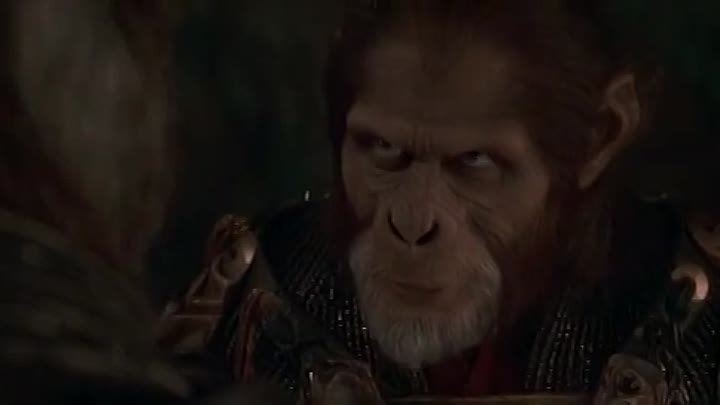 Планета обезьян (2001) смотреть онлайн (фэнтези боевик триллер приключения)