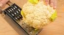 Вкуснее чем любая курица! Гениальная ЦВЕТНАЯ КАПУСТА, 5 РЕЦЕПТОВ, которые полюбят абсолютно все!