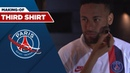 MAKING OF THIRD SHIRT with Neymar JR and Kylian MBAPPE