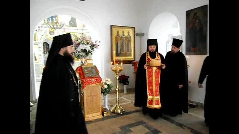 Вынос Артоса на Светлой седмице. Подворье Санаксарского монастыря 2013