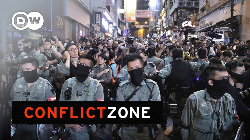 Will violence kill Hong Kong's pro democracy movement Conflict Zone