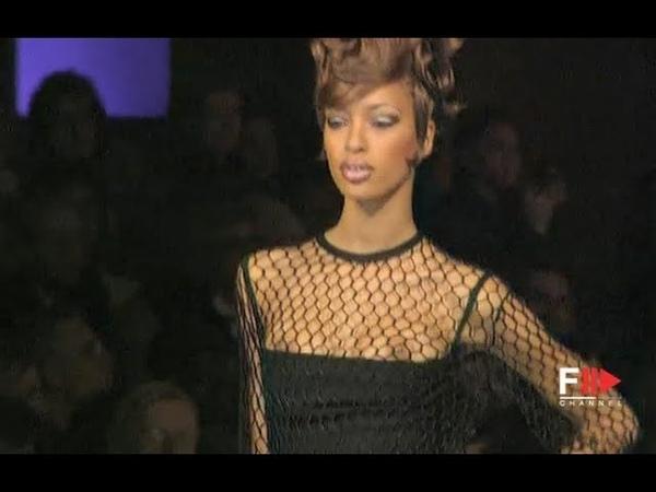 HERVÉ LÉGER Fall 1994 1995 New York Fashion Channel