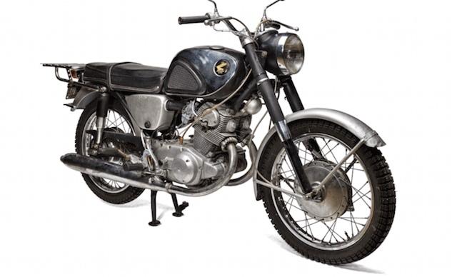 Мотоцикл Honda CB77 SuperHawk Роберта Пирсига стал частью коллекции Smithsonian