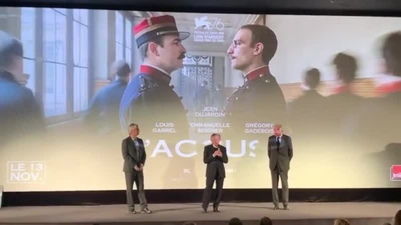 @grossjudith Jaccuse avant-premiere at Memorial de la Shoah 4 (11.11.2019)