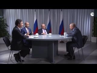 Путин о гонке вооружений