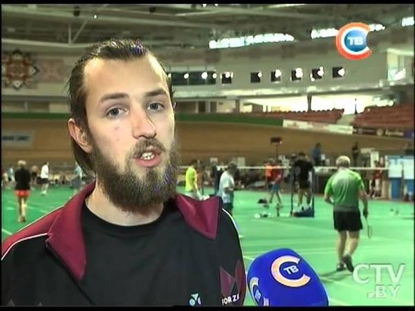 Любительские соревнования по бадминтону прошли в Минск Арене