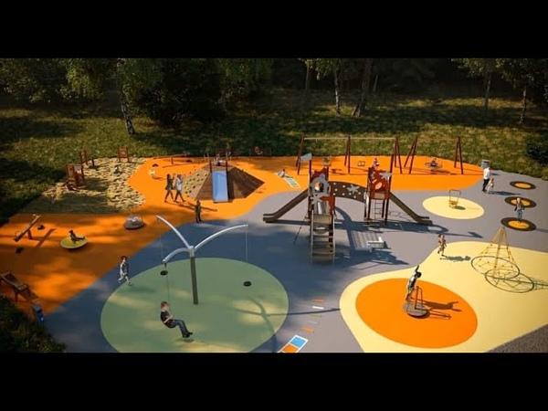 Каким будет городской парк в Дрезне Проект презентовали жителям