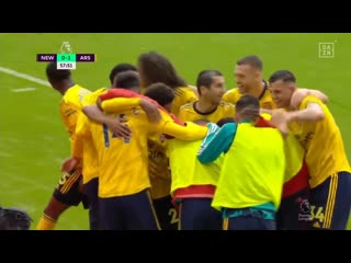 Thats the first and the last time ceballos will celebrate an arsenal goal - -