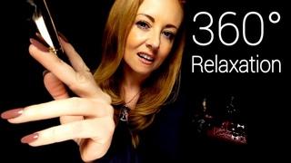 360 ASMR Sound Therapy Binaural Massage, Brushing, Singing Bowl, Tuning Forks