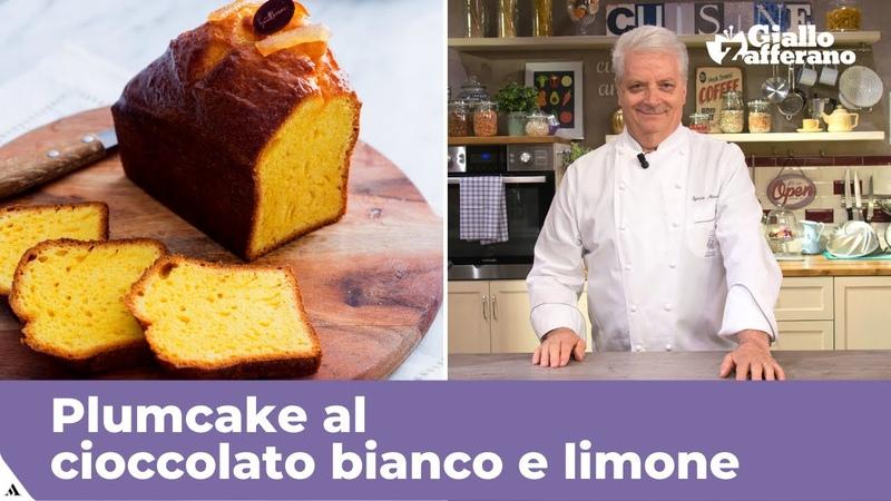 PLUMCAKE AL CIOCCOLATO BIANCO E LIMONE di Iginio Massari