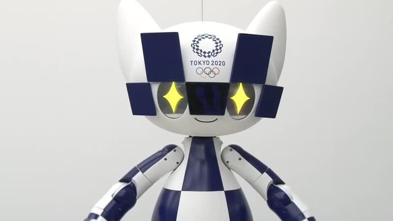 Tokyo 2020 Mascot Robot