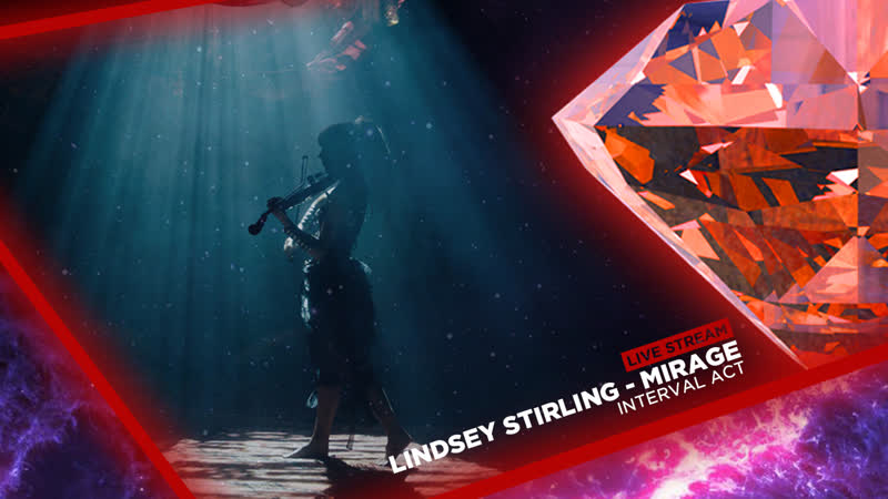 LIVE: Grand Final - Interval Act - Lindsey Stirling - Mirage - feat. Raja Kumari - World Music Festival 5