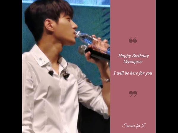 Happy Birthday video for Kim Myung Soo Infinite L 29th birthday