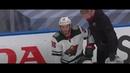 Удар в затылок в игре Ванкувер-Миннесота 4-3