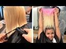 Haircut Long Hair to Short Hair Transformation - Cute Hairstyle Tutorial Ideas For Little Girls