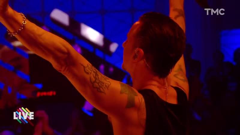 Depeche Mode – «Cover Me» – (Live on TMC TV, Paris 21.03.2017)