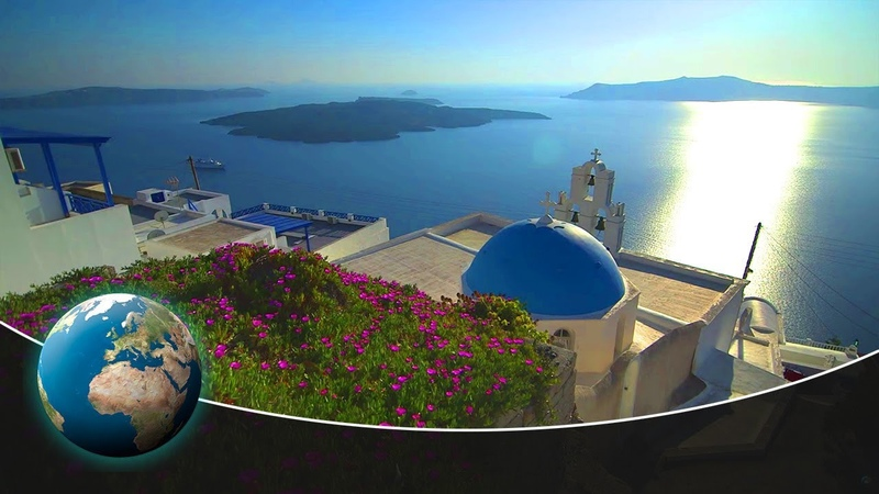 Breathtaking Santorini - Beauty on a powder keg