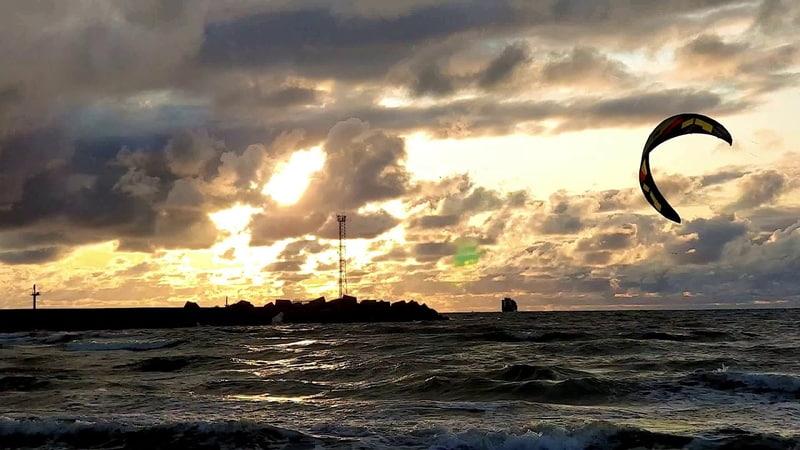 Saulėlydis prie molo loveklaipeda 2019 10 03