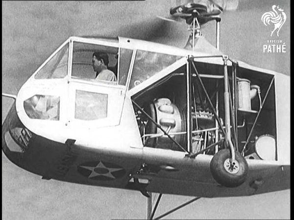 U S Air Force Tests Helicopter 1943