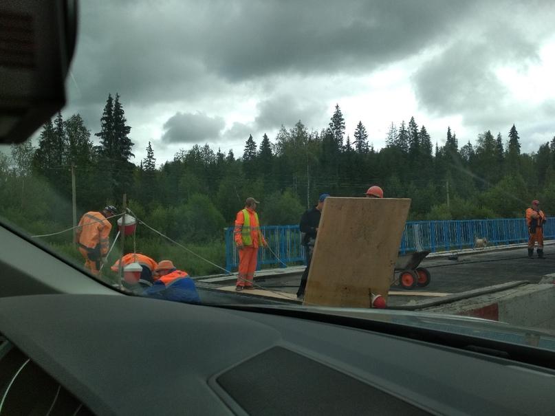 ремонт моста