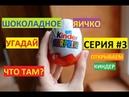 ОТКРЫВАЕМ КИНДЕР СЮРПРИЗ. СЕРИЯ 3