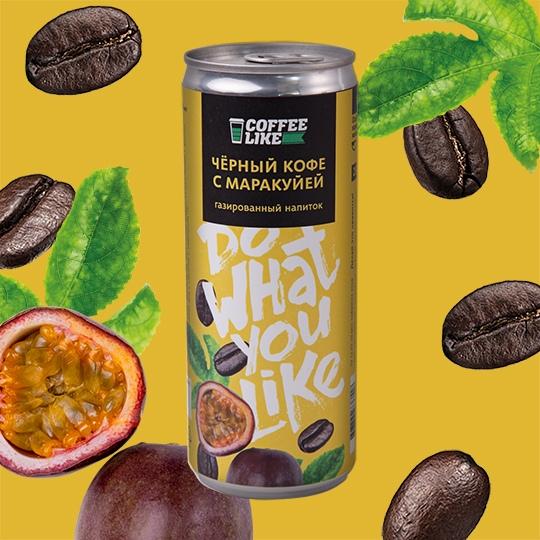 Кофейные напитки: Черный кофе с маракуйей