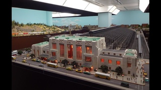 Awesome Large Model Railroad RR HO H.O. Scale Gauge Train Layout Milwaukee with amazing trains