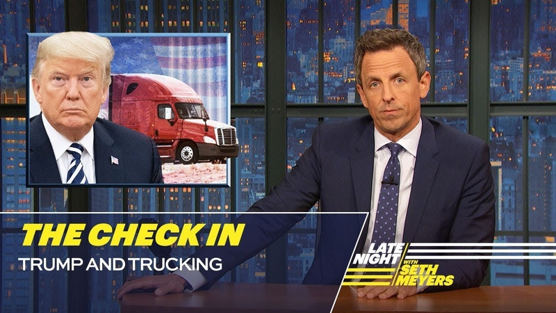 The Check In Trump and Trucking