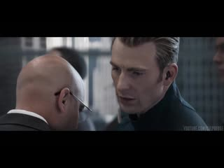 Капитан Америка Хайль Гидра Мстители Финал Captain America Hail Hydra Avengers Endgame (2019)