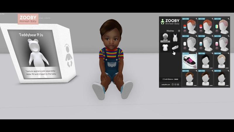 Zooby Animesh Texture Hud Update